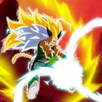 Majin Vegeta Super Saiyajin 9 Full Power by gonzalossj3