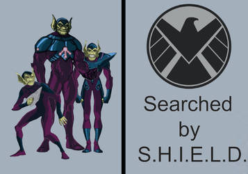 The Skrulls Searched by S.H.I.E.L.D.