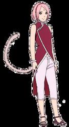 Adult Sakura Saiyan