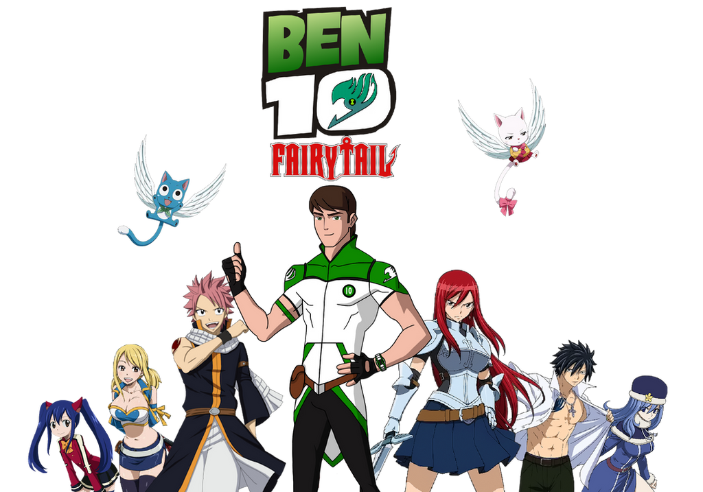 Ben 10 Fairy Tail by Crossovercomic on DeviantArt