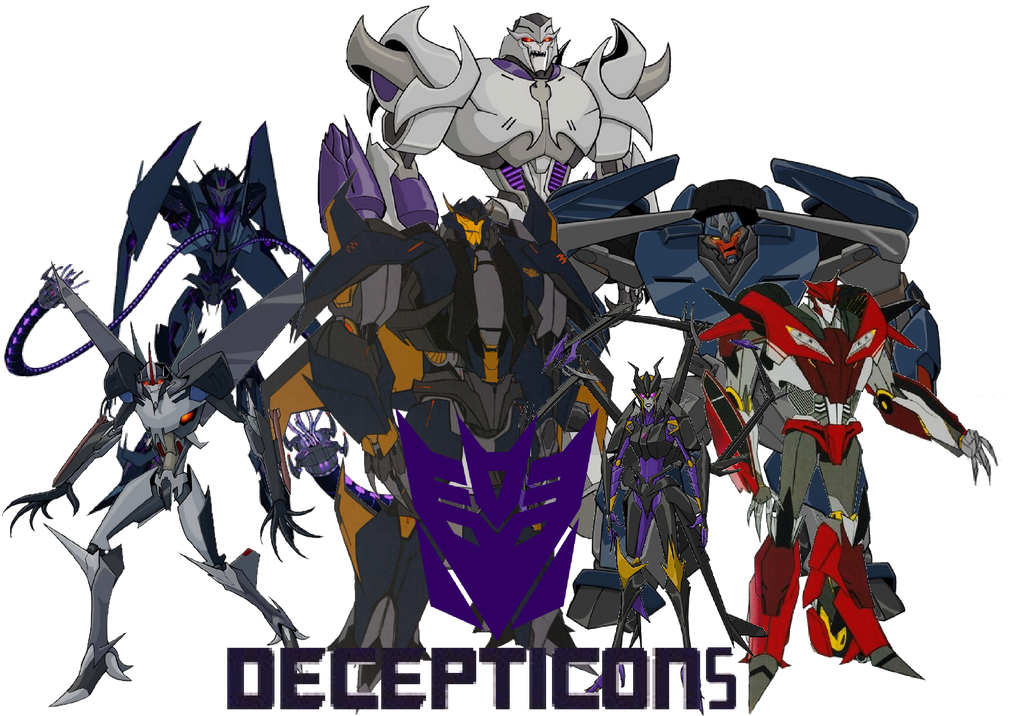 The Decepticons by Crossovercomic on DeviantArt