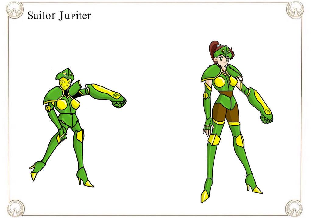 Sailor Jupiter by Crossovercomic