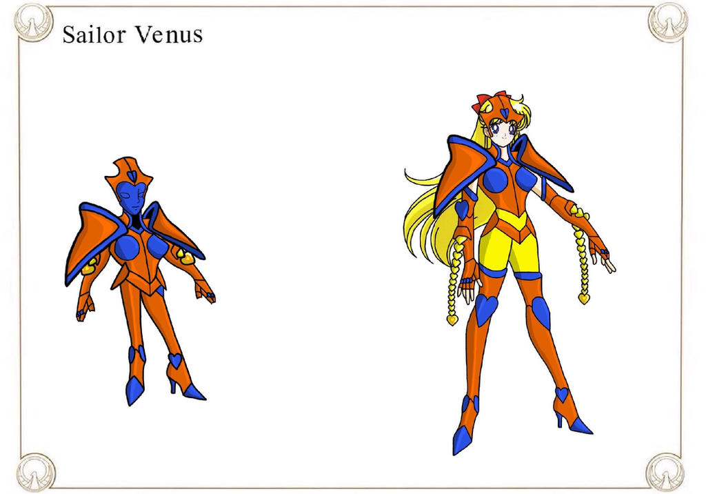 Sailor Venus by Crossovercomic