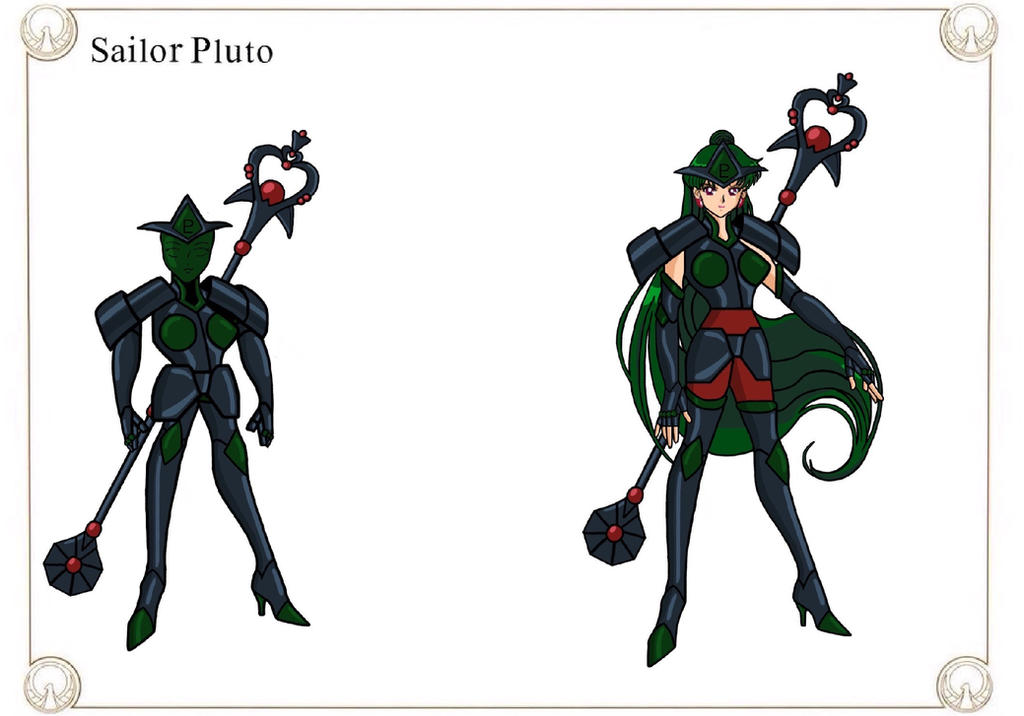 Sailor Pluto by Crossovercomic