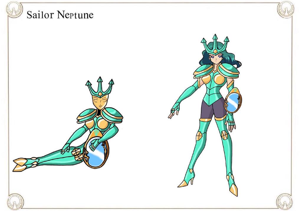Sailor Neptune by Crossovercomic