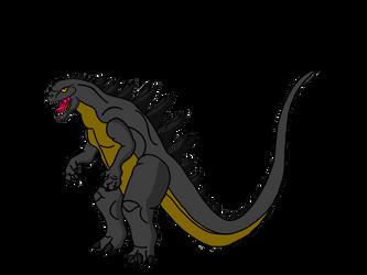 Godzilla by Crossovercomic