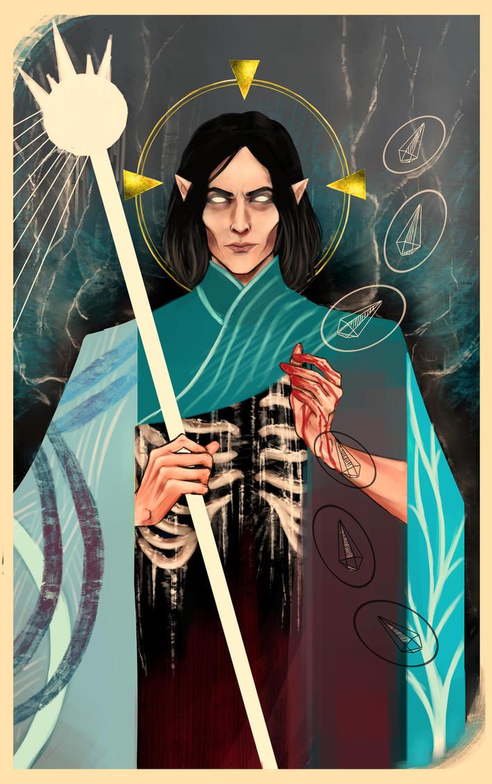 Caranthir the navigator of the wild hunt by loathen on deviantart - Caranthir witcher ...