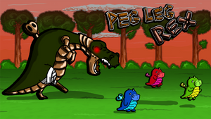 Peg Leg Rex by axemsir