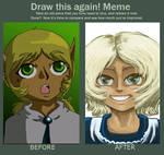 Draw this again Meme, Pan