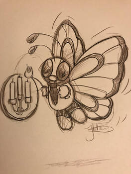 Pokmon cafe # 12 Butterfree