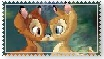 Bambi and Faline Stamp by littledoegiuli95