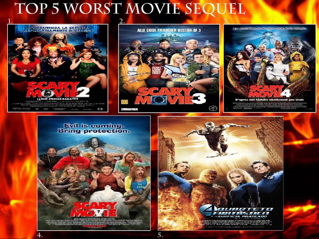 My Top 5 Worst Movie Sequels by littledoegiuli95 on DeviantArt