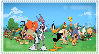 The Looney Tunes Show Stamp by littledoegiuli95