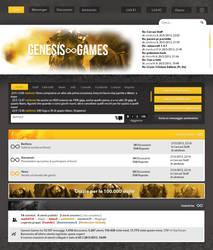 Genesis Games Skin by Cyan97