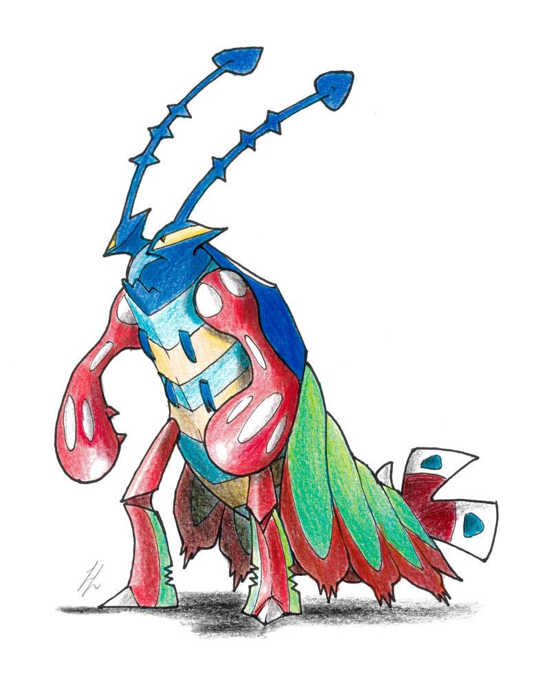 009 vehemantis fakemon dex by lorenzolivrieri on deviantart rh lorenzolivrieri deviantart com Pink Shrimp Clip Art Cartoon Shrimp Clip Art