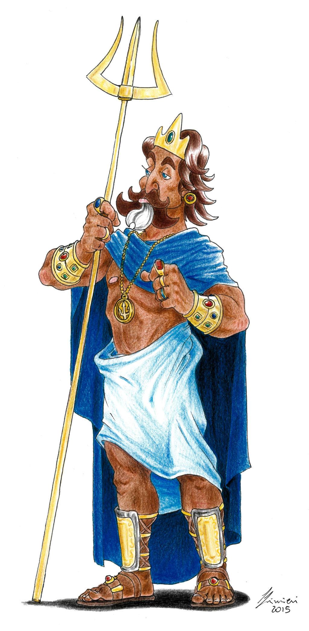 Poseidon - Gods of Olympus by LorenzoLivrieri