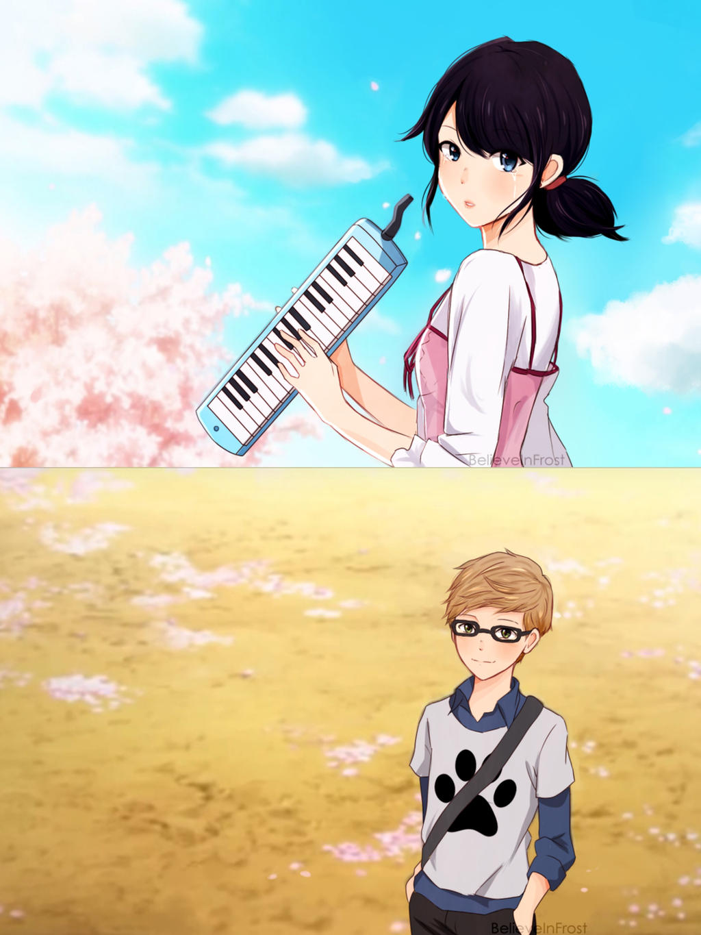 Miraculous Ladybug Your Lie In April AU By BelieveInFrost