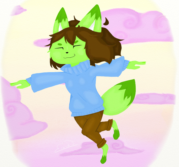 Flyingbitch(? by FluffyCloud3