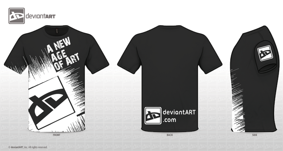 deviantART New Age T-Shirt by MattisamazingPS