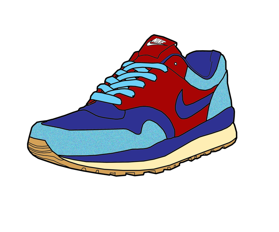 Free Clipart Images Running Shoes