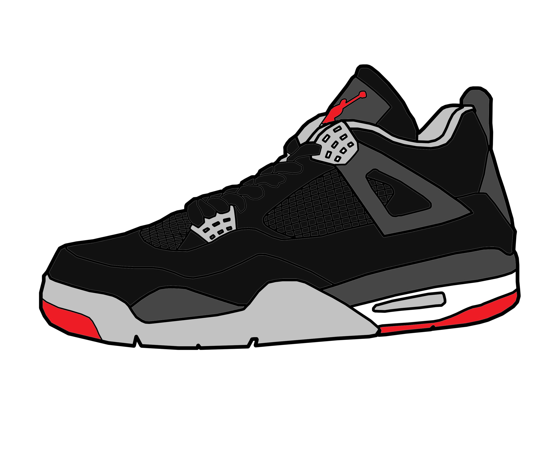 jordan shoes retro menu vector png png 824295