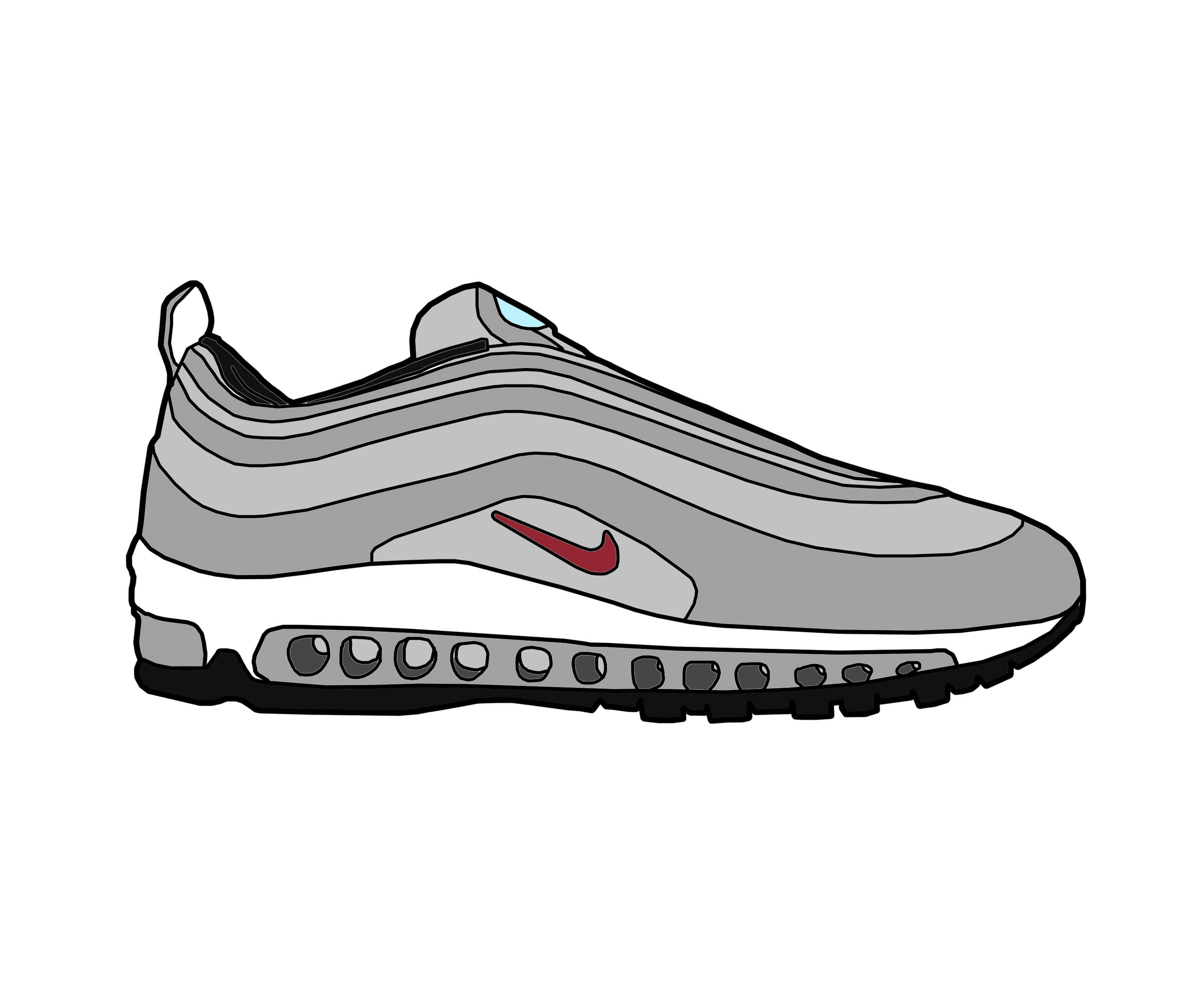 reputable site 248e6 73413 ... Nike Air Max 97 OG by MattisamazingPS .