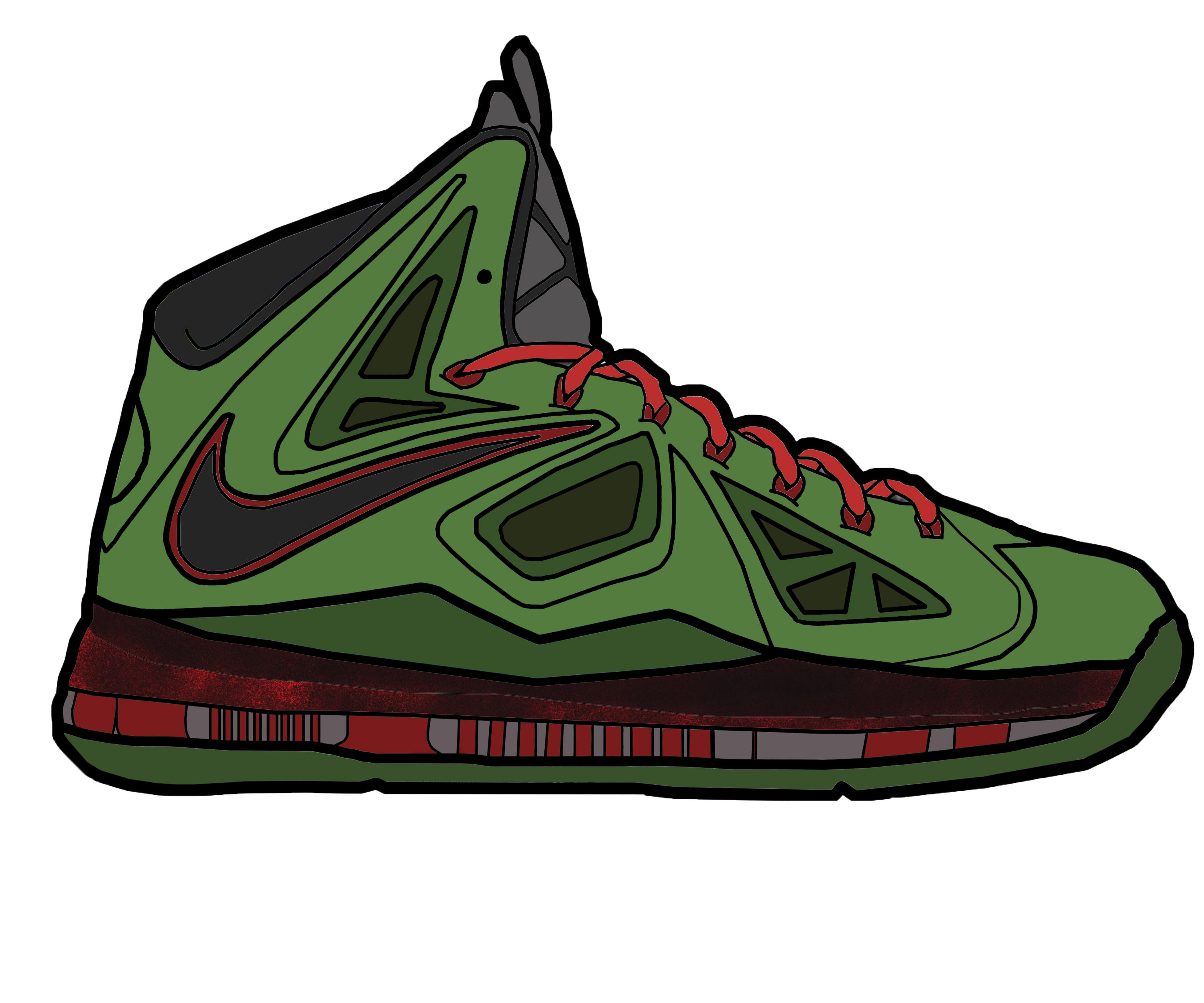 jordan and nike shoes drawings lebrons 864306