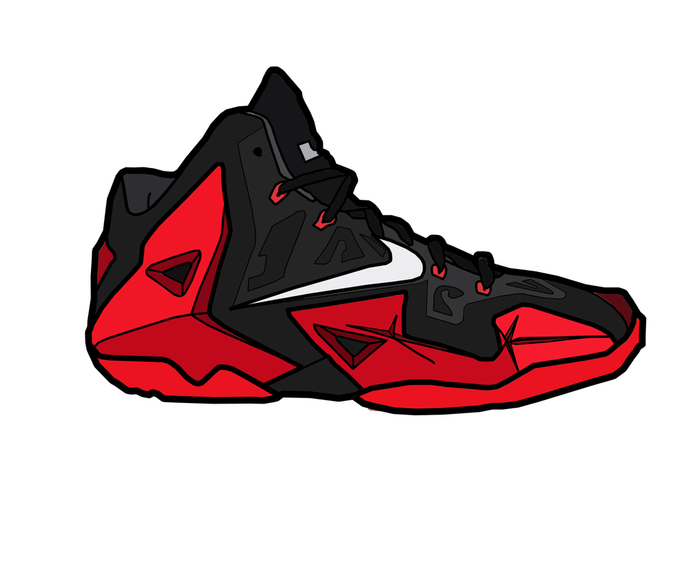 Nike Lebron XI 'Red' by MattisamazingPS ...