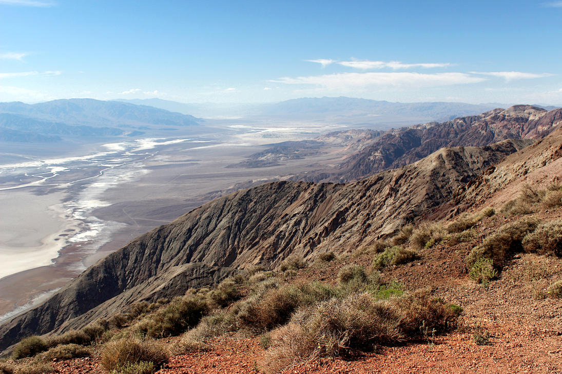 Dante's View, overlooking Death Valley