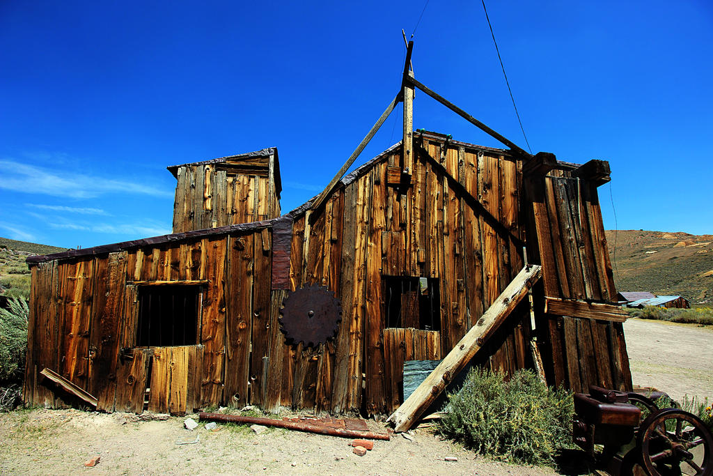 Building in Bodie