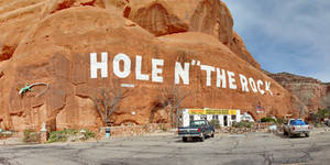 Hole N the Rock by patrick-brian