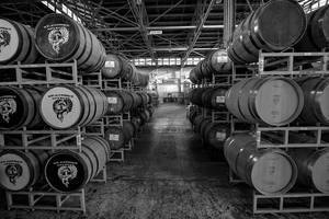 Whiskey Barrels III by patrick-brian