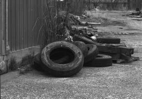 Old Tires by patrick-brian