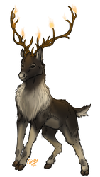 Calidaes Reindeer by Gingy1380