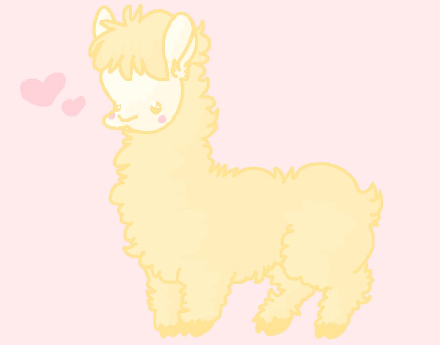 Cutie Llama by Chowderrules101