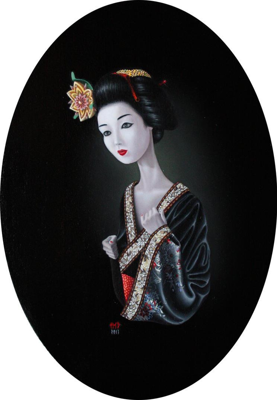 Geisha # 42.01 by Iarumasami