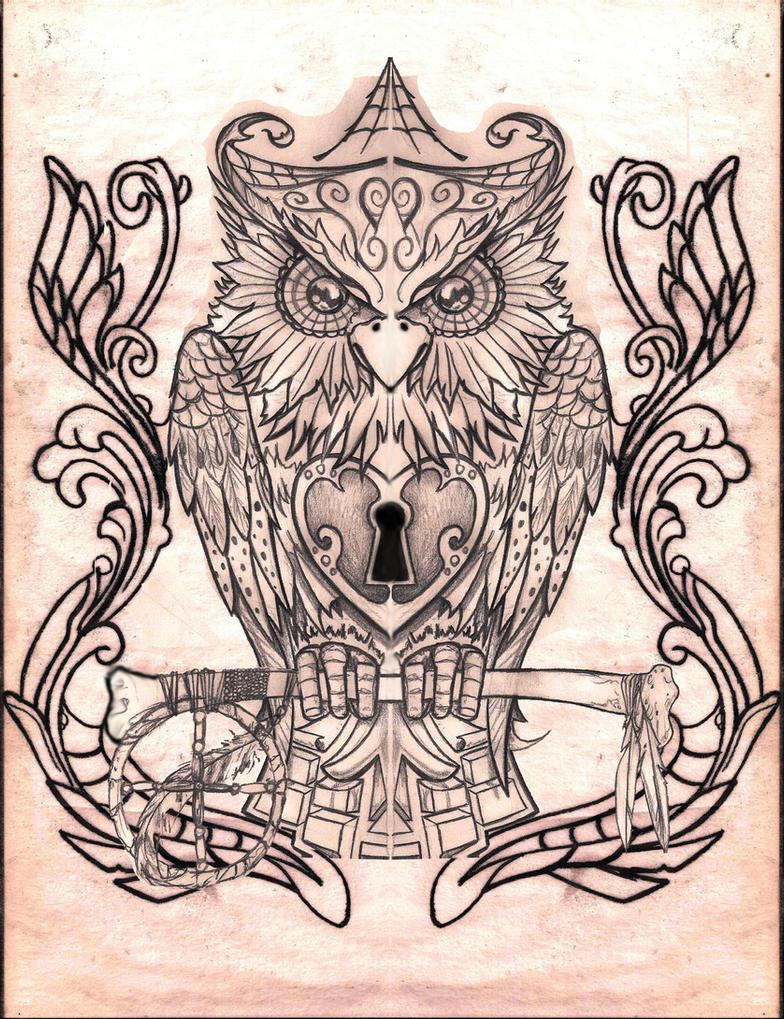 Owl By CREEP1973 On DeviantArt