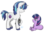 Fanfictionist13- Shining Armor and Twilight (FD)