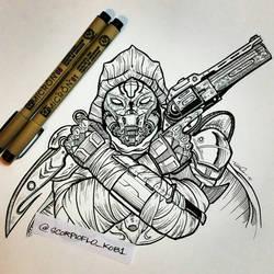 Dead Orbit gunslinger