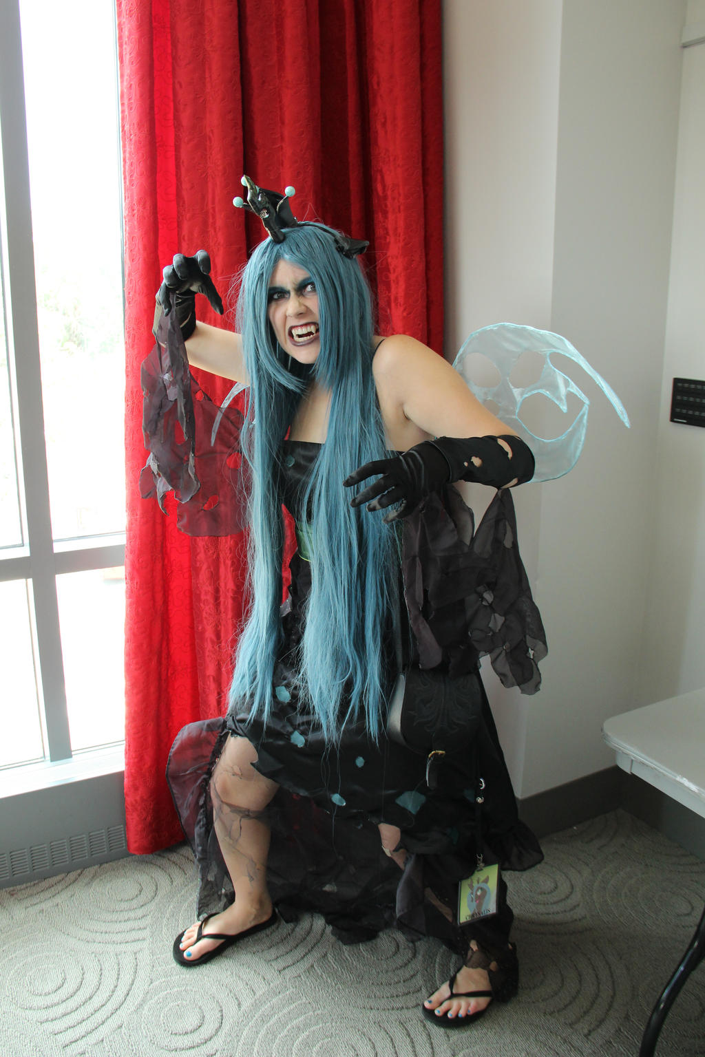 Queen Chrysalis at Trotcon by vervv