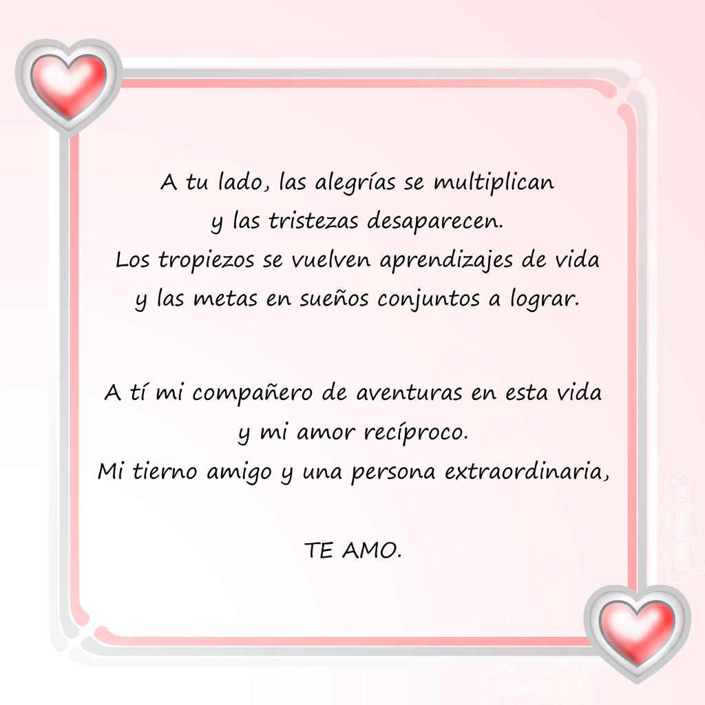 Of life love the spanish my in 10 Beautiful