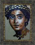 mosaic portrait by MinaNashed