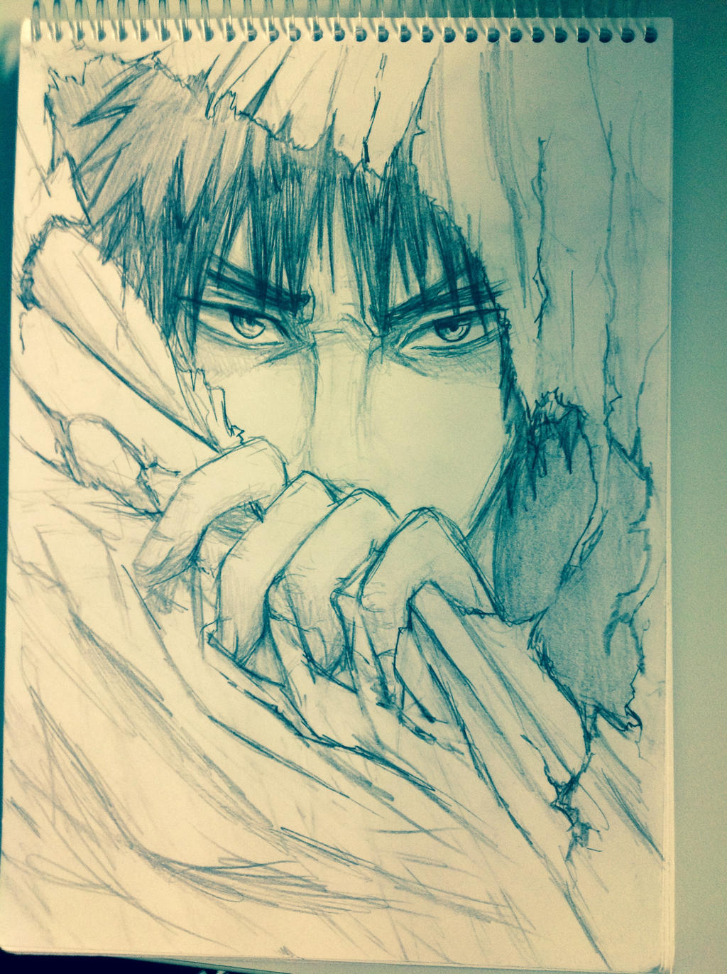 Kagami, please, don't break my note book... by KimiKhali