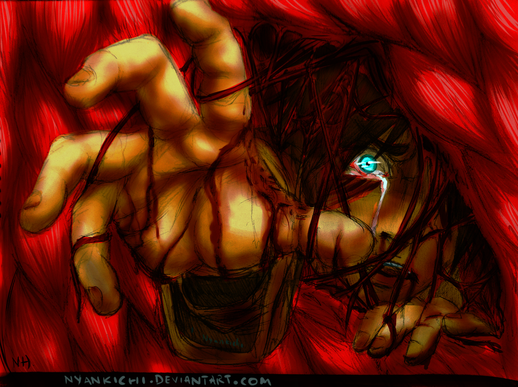 Let me out!! - Eren Jaeger (Colored!) by KimiKhali on ...