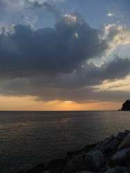 Sunset over Langkawi by clayton-northcutt