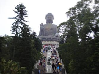 Tian Tan Buddha by clayton-northcutt