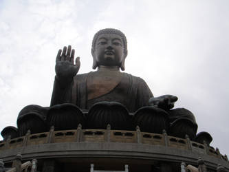 Tian Tan Buddha II by clayton-northcutt