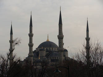 Sultan Ahmed Mosque by clayton-northcutt