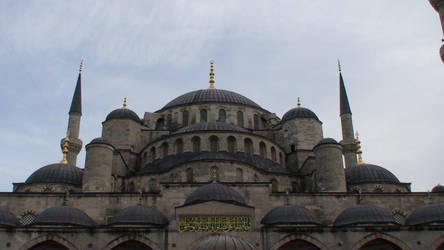 Sultan Ahmed Mosque II by clayton-northcutt
