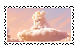 Partly Cloudy Stamp by MU-Cheer-Girl